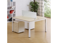 钢木结合桌060