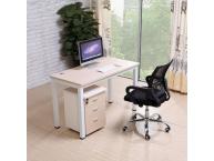 钢木结合桌061